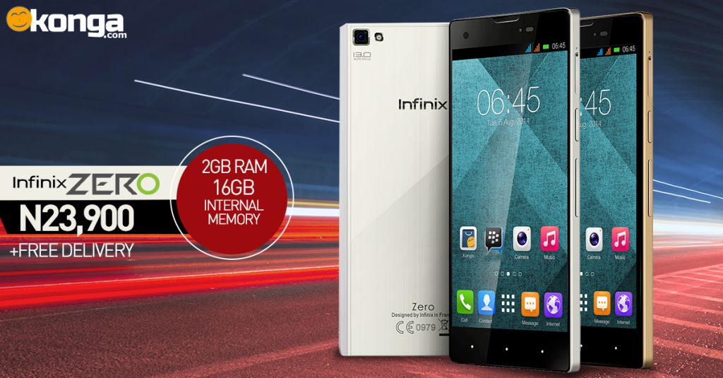 Infinix Zero Supercharged version