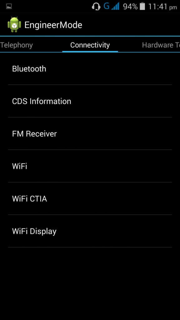 Changing IMEI on android