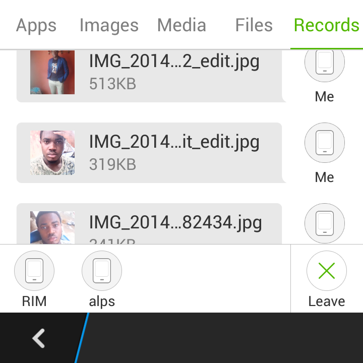 Download Xender app for sending and receiving files on Android, iOS and Blackberry