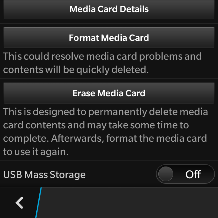 connect blackberry 10 to PC as mass storage device