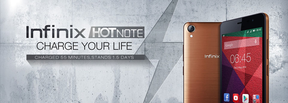 infinix hot note latest software update