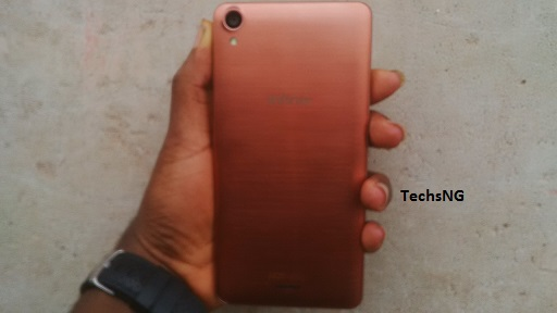 infinix hot note back view