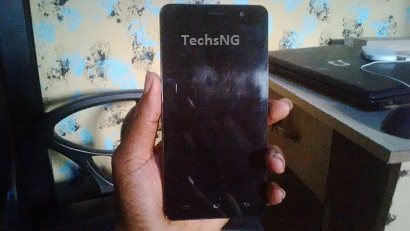 infinix hot note front view