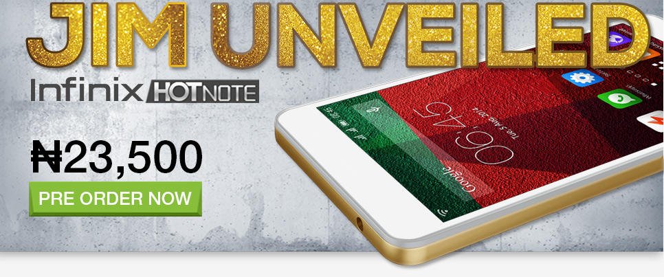 infinix hot note android phone
