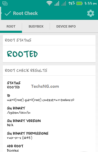 infinix hot note rooted