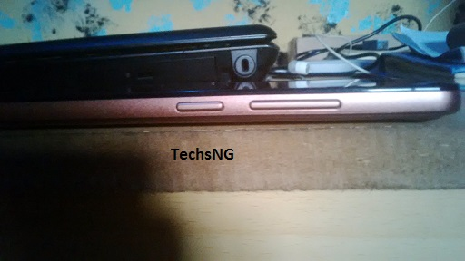 infinix hot note side view