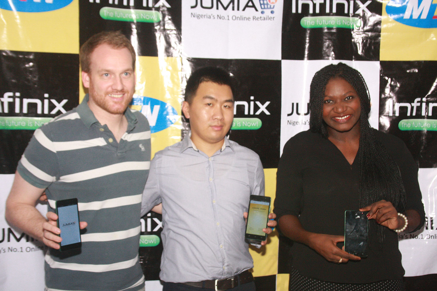 launching of the infinix hot note phone