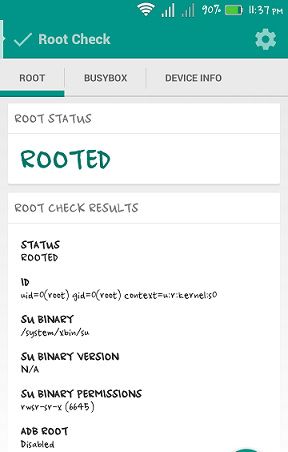 Android phone Already rooted
