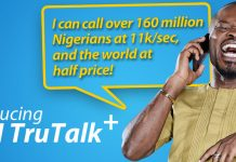 MTN trutalk+ plan call tariff rate has been changed