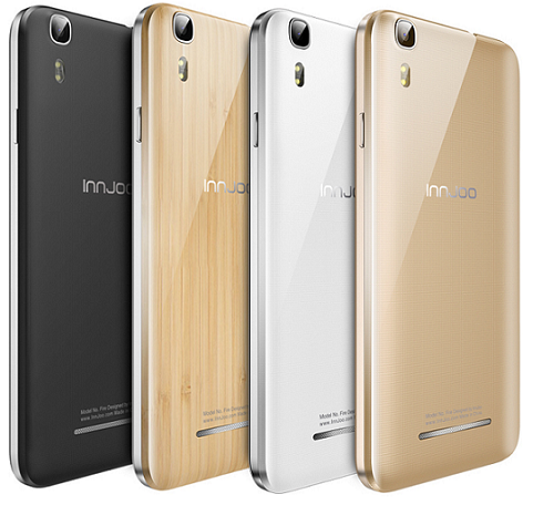 Innjoo Fire android phone color variants