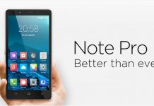 Innjoo note pro specification and price