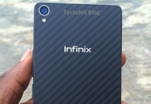 Infinix Zero 2 back view