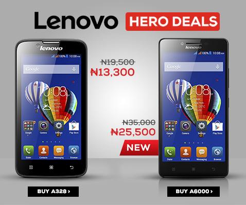 lenovo phones on jumia mobile week