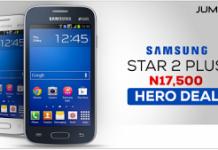 samsung galaxy star plus 2 on Jumia mobile week