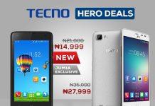 tecno phones on jumia mobile week day 3