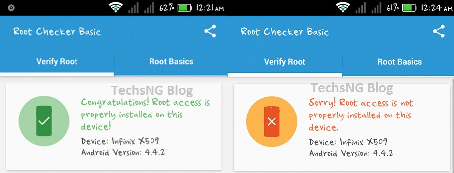 android phone unrooted