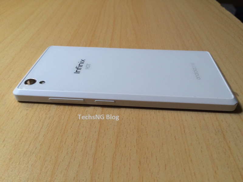 infinix hot 2 x510 back view