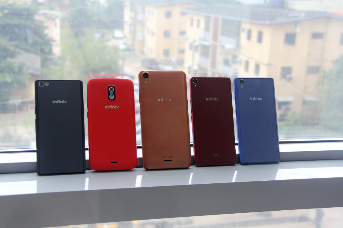 Infinix Phones produced within the last 3 years