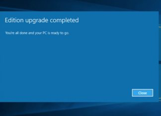 Windows 10 Home upgraded to Pro Edition