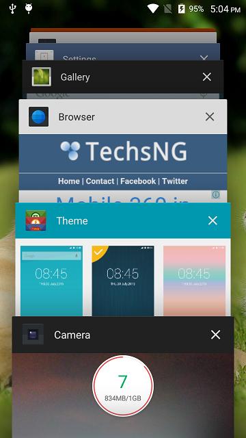 multitask on infinix hot note