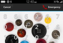Unlock blackberry 10 phone using picture password