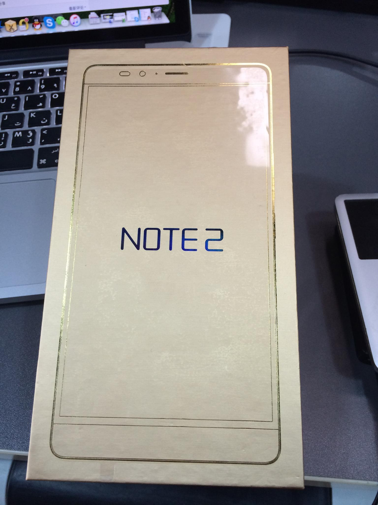 Infinix Hot Note 2 Packaging