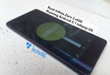 Root infinix zero 2 x509 running android lollipop