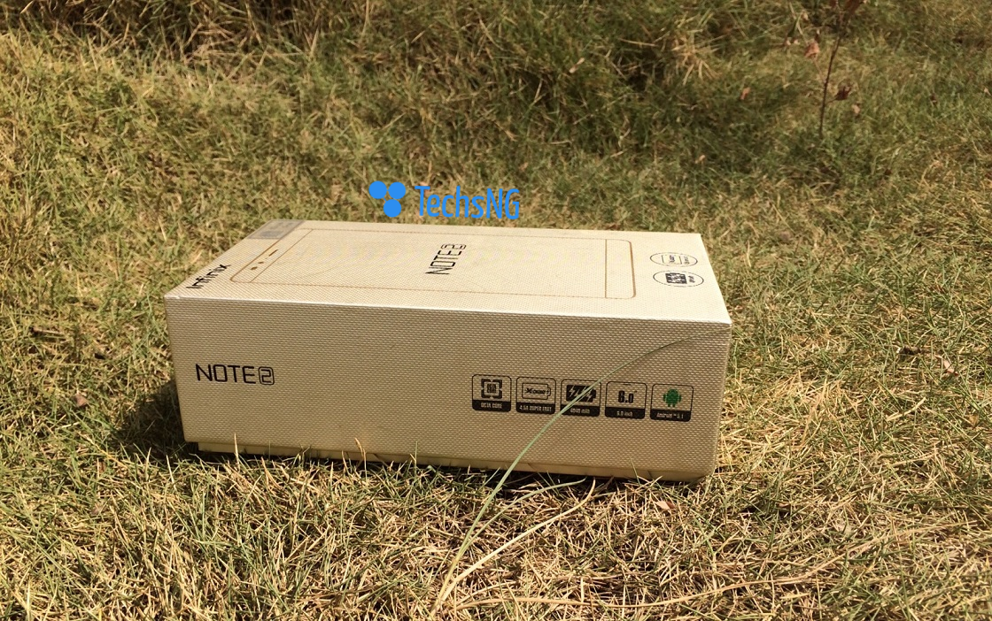 infinix note 2 boxed