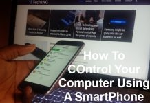 remote control your computer using a smartphone