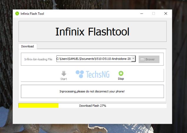 downgrade infinix hot 2 OS