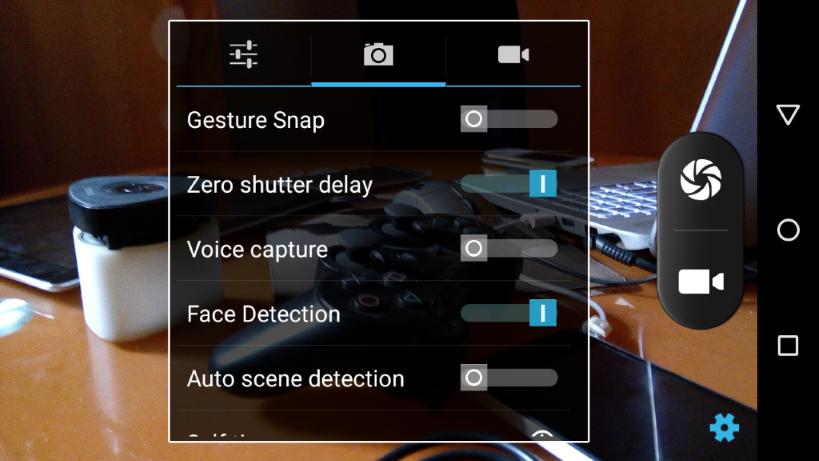 infinix zero camera settings 2