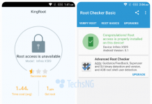 infinix zero 2 x509 running android lollipop 5.1 successfully rooted using kingroot app