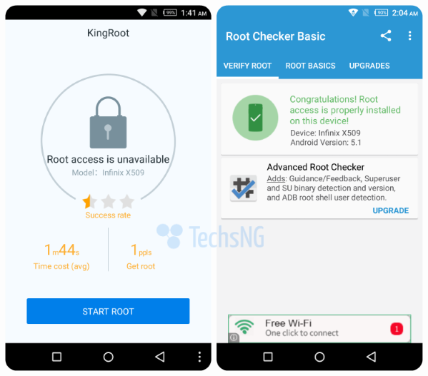 Latest kingroot version app roots all android 5.1 lollipop phones