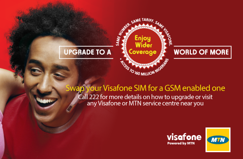 Visafone migration to mtn