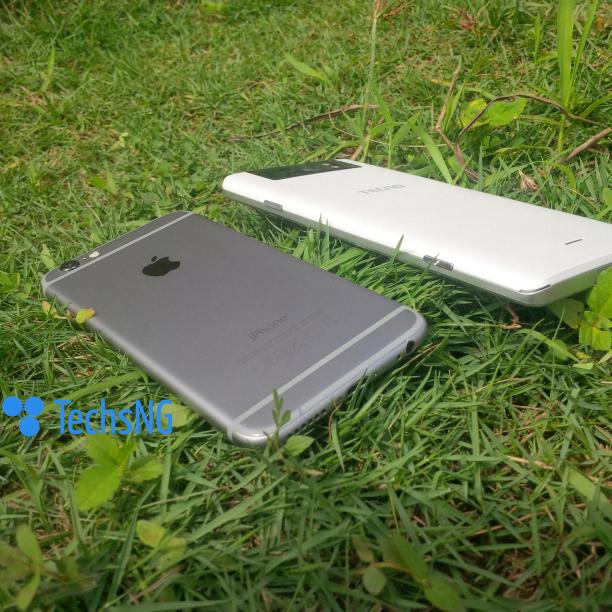 iPhone 6 vs Tecno Camon C8 Camera