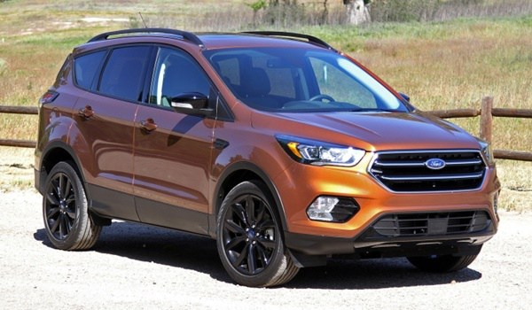2017 ford escape side view