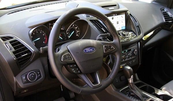 2017 ford escape interior view