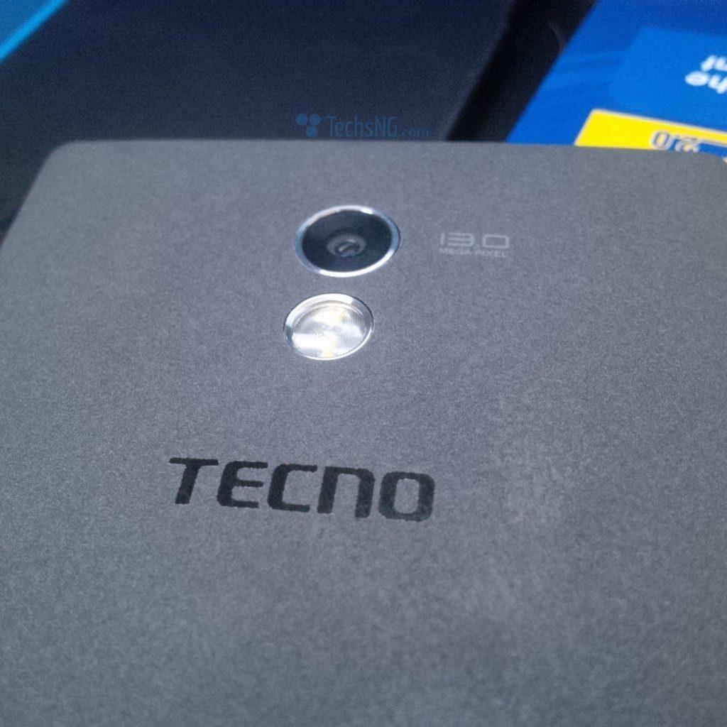 Tecno camon c9 back speaker view