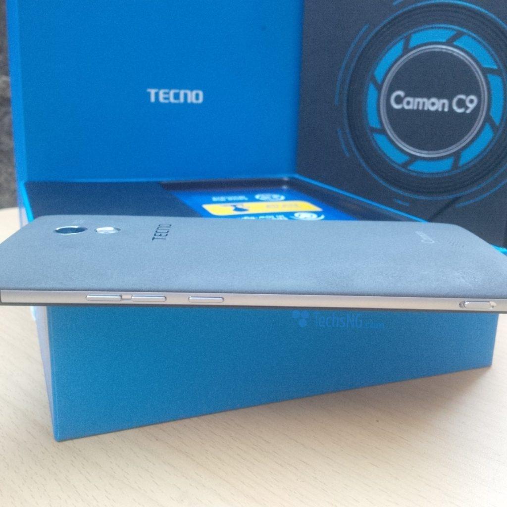 tecno camon c9 right side view