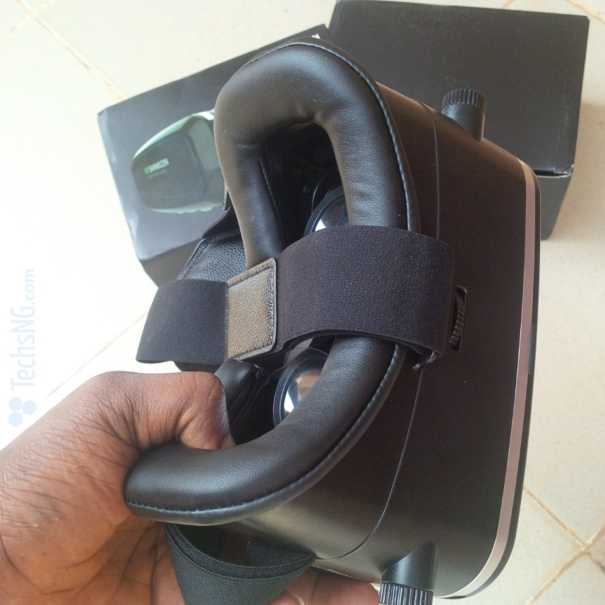 vr shinecon 3d glasses headset side view