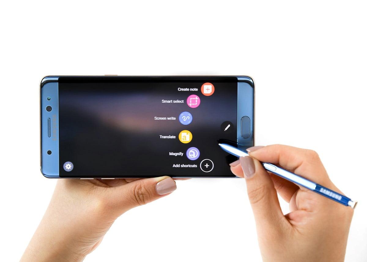 Samsung plans selling refurbished Samsung Galaxy Note 7