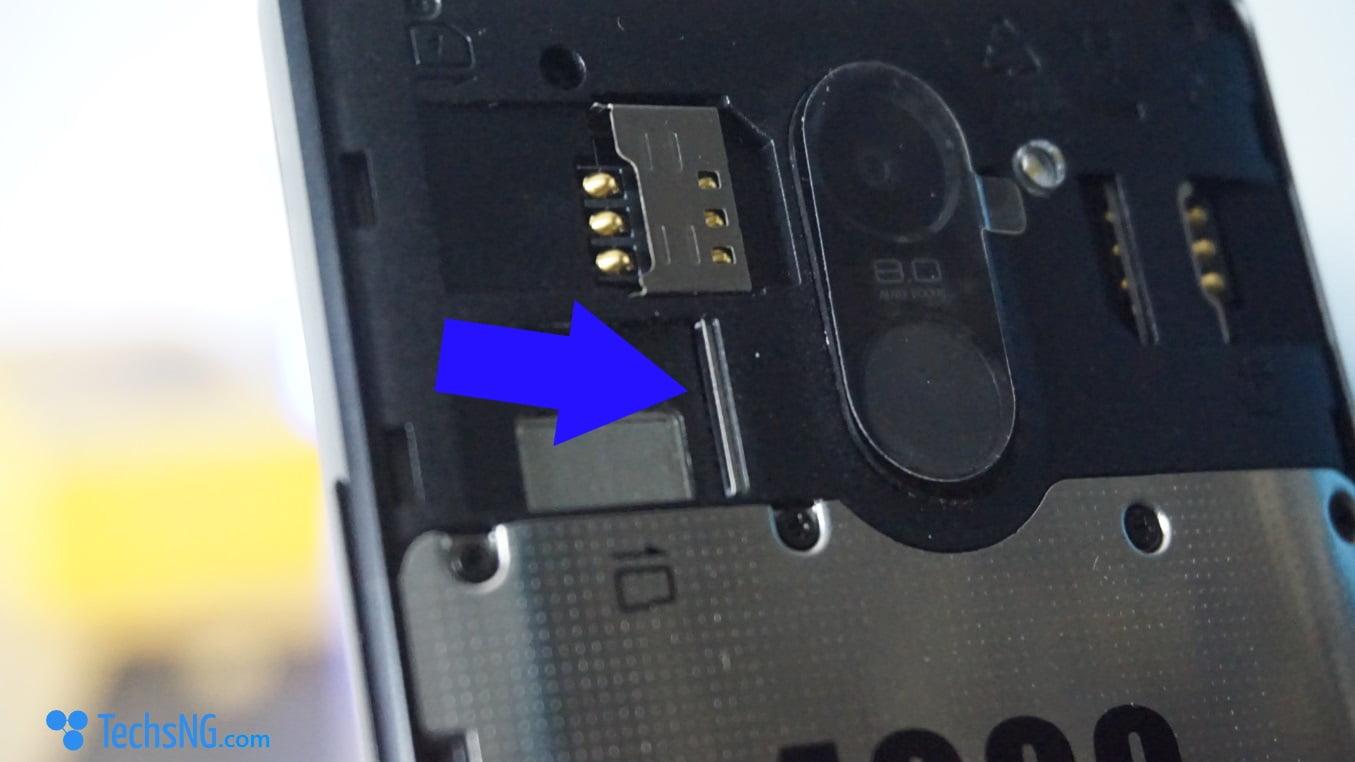 infinix hot 4 memory card slot