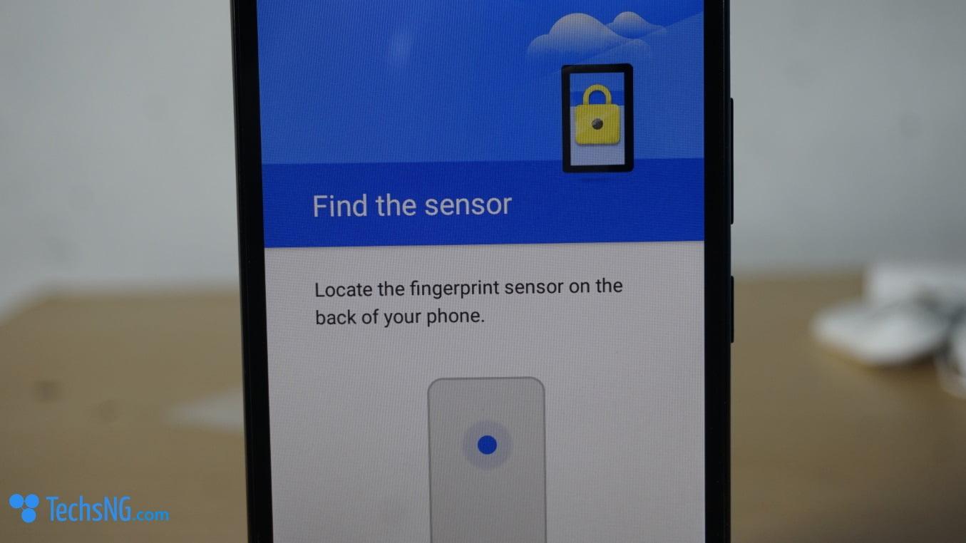 infinix hot 4 fingerprint setup