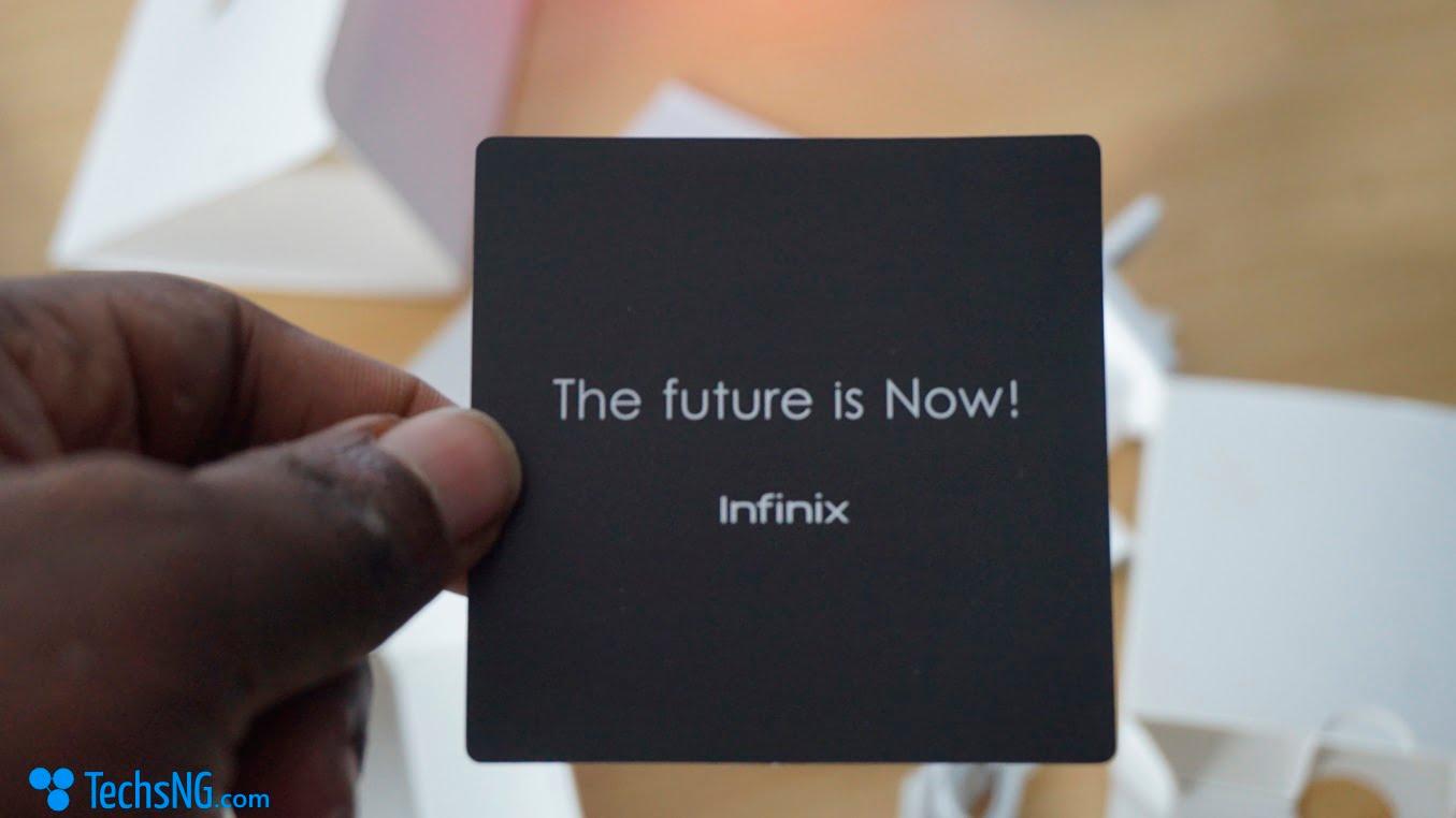 Infinix hot 4 label