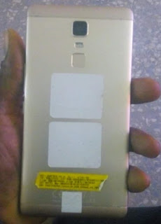 infinix note 3 back view