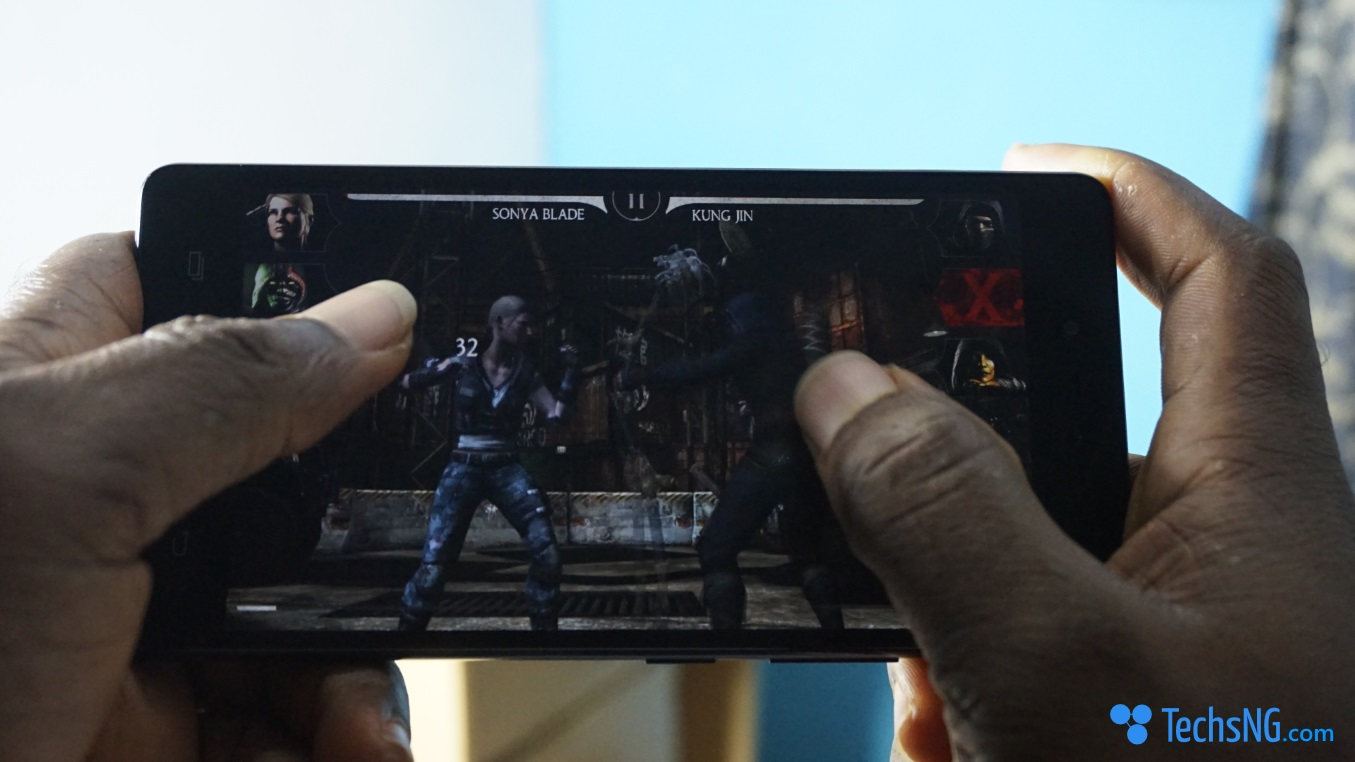Gaming on the infinix hot 4