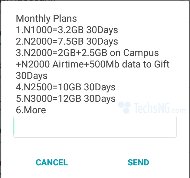 glo updated monthly data plans and prices