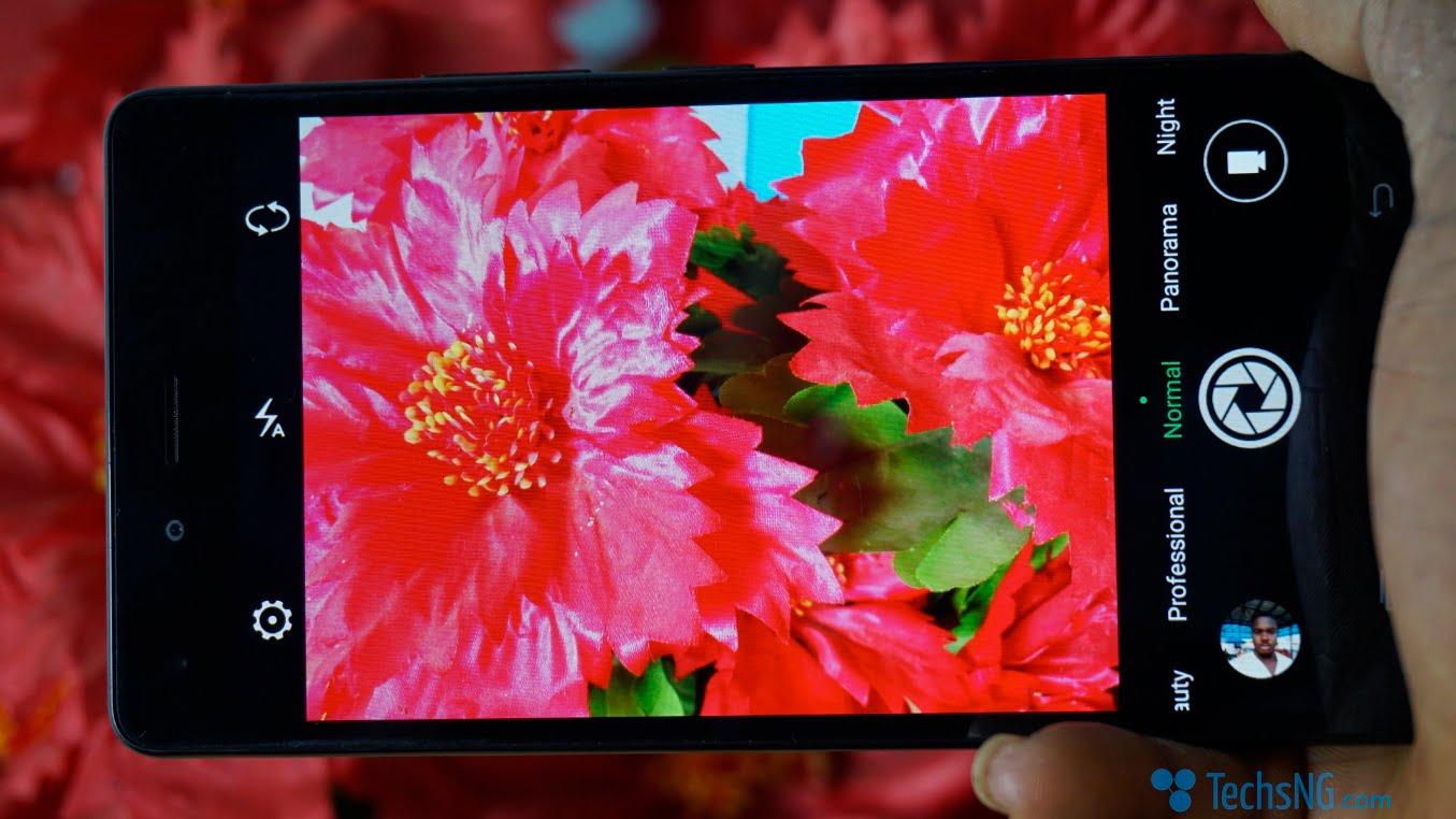 Infinix hot 4 camera