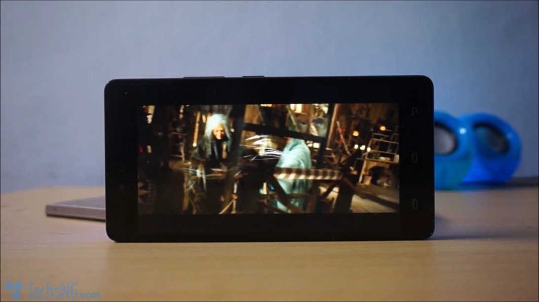 Infinix hot 4 video quality display
