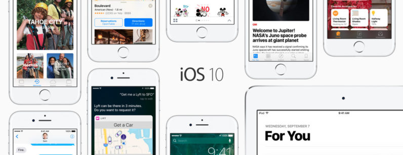 iOS 10 all new features